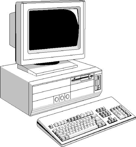 Bild eines Computers