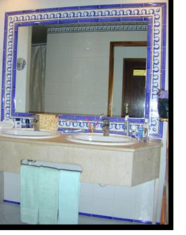 Das Bad im Appartement 702 im Monica Isabel Beach Club Hotel in Albufeira