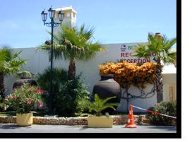Foto des Eingangsbereichs des Monica Isabel Beach Club Hotels in Albufeira