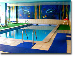 Foto des Indoor Pools des Monica Isabel Beach Club Hotels in Albufeira