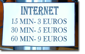 Preisliste für den internet Zugang im Monica Isabel Beach Club - Albufeira