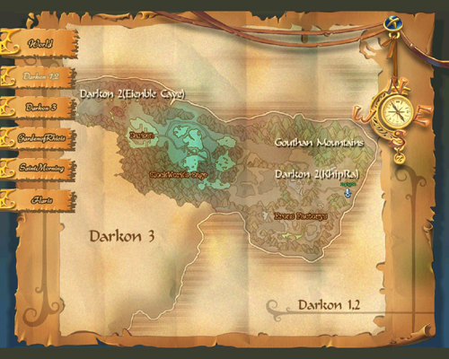 Uebersichtskarte von Darkon