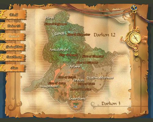 Uebersichtskarte Darkon 3 - Waechter