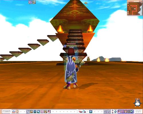 Die Waechter-Pyramide aus der Naehe