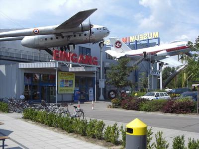 Eingang zum Technik Museum Speyer