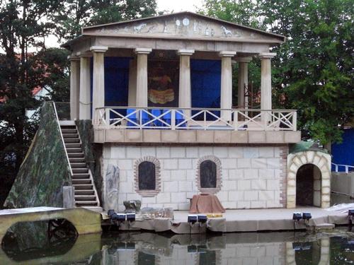 Der Tempel von Delphi