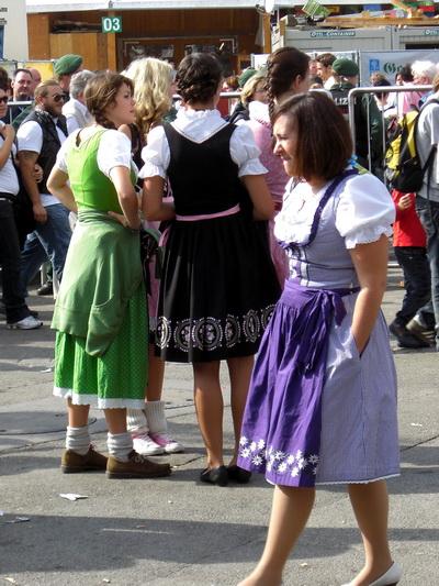 Besucher der Wiesn 2009