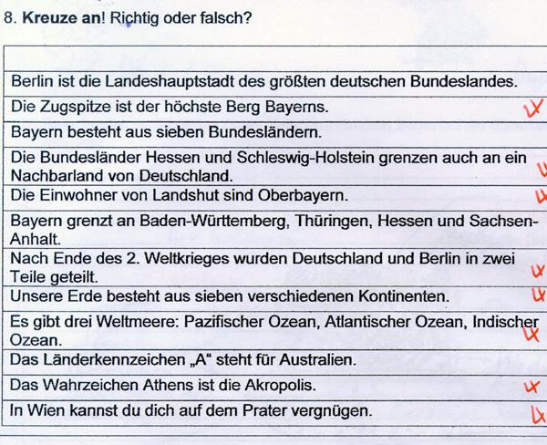 HSU Probe in der 4. Klasse | Svens Gedankensplitter