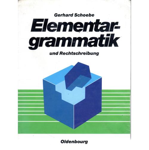 Elementargrammatik 1988