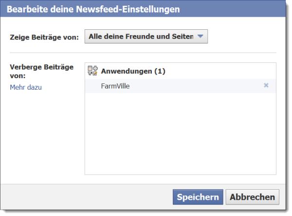 Facebook: Filter ausschalten