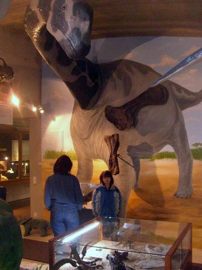 Urzeitmuseum Taufkirchen - 3D Saurier