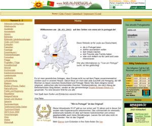 Wir in Portugal - die Homepage des Portugal Info Portals