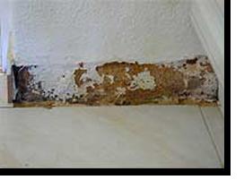 Foto einer abgeschlagenen Fliese im Apartment 313A im Monica Isabel Beach Club in Albufeira