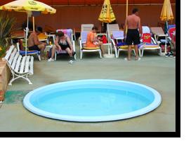 Der Kinderpool des Monica Isabel Beach Clubs in Albufeira