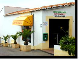 Der Mini-Mercado des Monica Isabel Beach Clubs in Albufeira