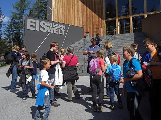 Besucherzentrum der Eisriesenwelt Werfen