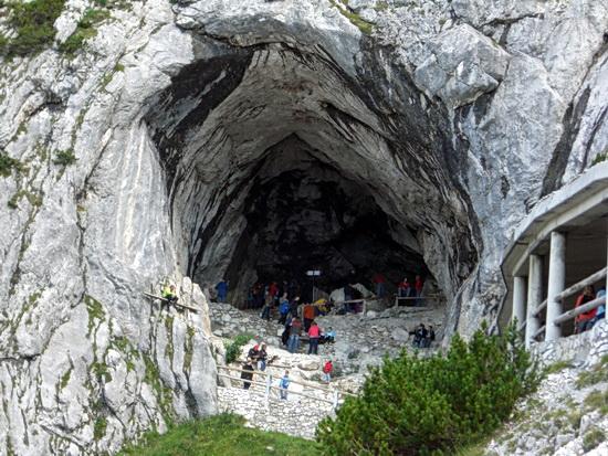 Das Portal zur Eishöhle