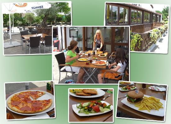 Impressionen aus dem italienischen Restaurant La Strade