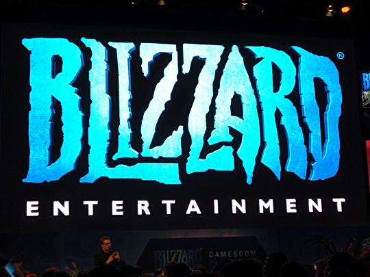 Blizzard Logo auf der Gamescom 2014