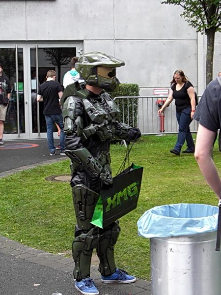 Foto eines Cosplayers auf der Gamescom 2014