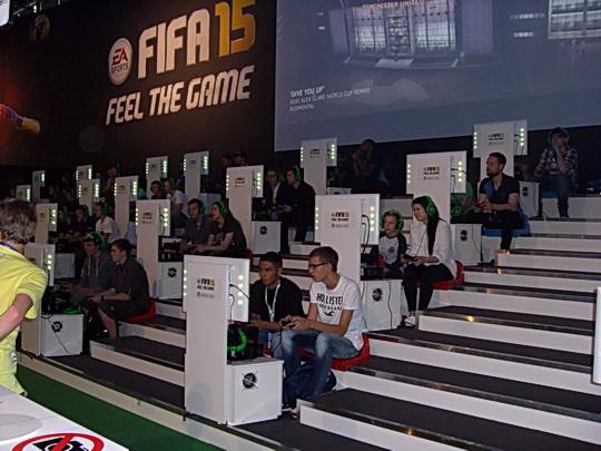 PC-Farm, um FIFA auszuprobieren