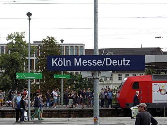 S-Bahn Station Köln Messe