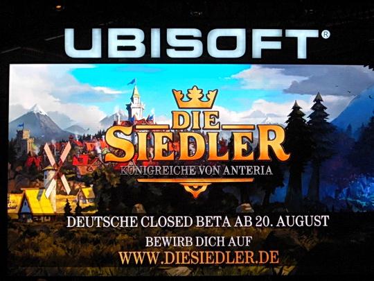 Ankündigung von Ubisoft: Die Siedler - Königreiche von Antera