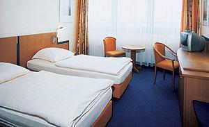 Innenansicht unseres Hotelzimmers