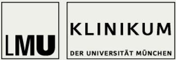 Logo der LMU Augenklinik in München