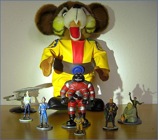 Gruppenfoto von einigen Perry Rhodan Helden