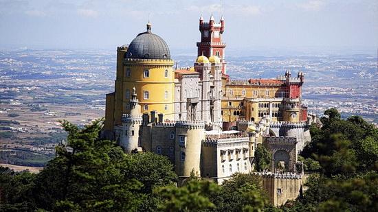 Foto des Palácio Nacional da Pena in Sintra, Portugal