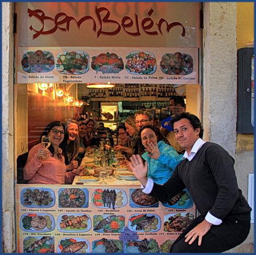 Foto der Reisegruppe im Bem Belém