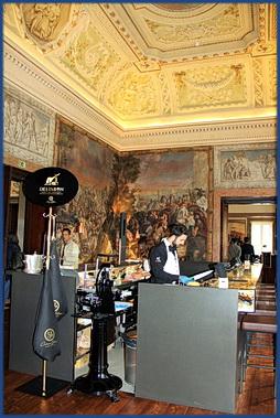 Foto vom Restaurant-Bereich Delisbon im Palácio Chiado