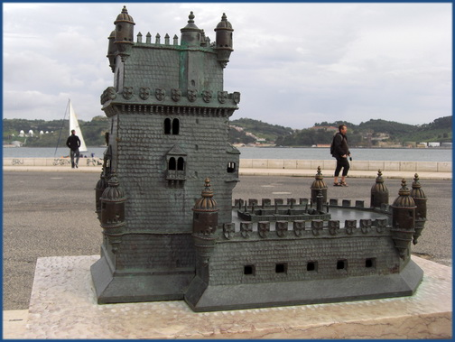 Modell des Torre de Belém