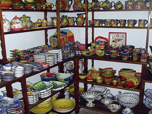 Olaria José Franco: bunte Keramiken