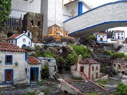 Foto von dem Miniaturdorf in der  Aldeia típica de José Franco