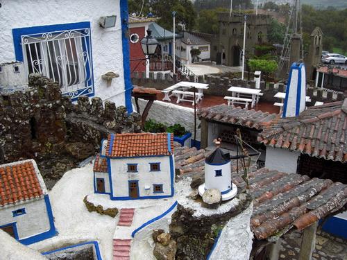 Überblick über das Dorf Aldeia típica de José Franco