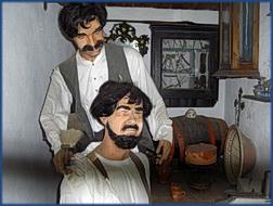 Aldeia típica de José Franco: der Zahnarzt