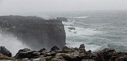 Boca do Inferno in Cascais bei Regen
