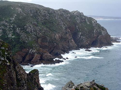 Foto der Steilküste beim Cabo da Roca