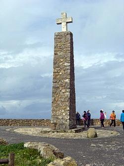 Foto des Markierungspunkts am Cabo da Roca