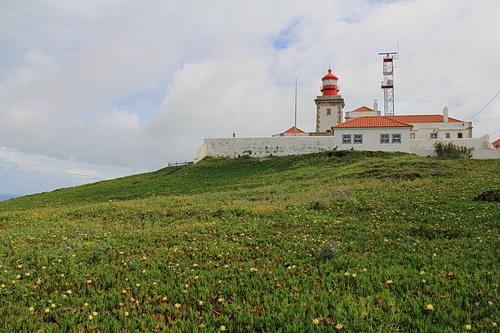 Foto des Leuchtturms am Cabo da Roca