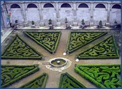 Ein Innenhof vom Palácio Nacional de Mafra