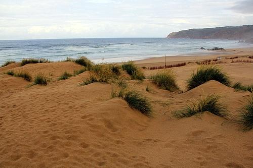Foto des Strand Praia do Guincho an der Westküste von Portugal