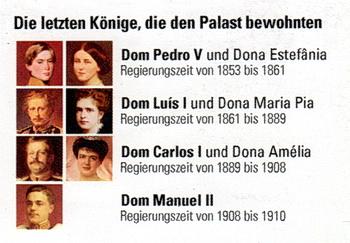 Die letzten Könige, die im Palácio Nacional da Pena in Sintra gelebt haben