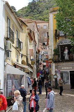 Die Innenstadt von Sintra