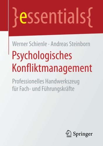 Buch-Cover Psychologisches Konfliktmanagement