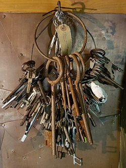 Schlüsselbund aus dem Trollfamilienhaus der Trollin Judka in Turisede