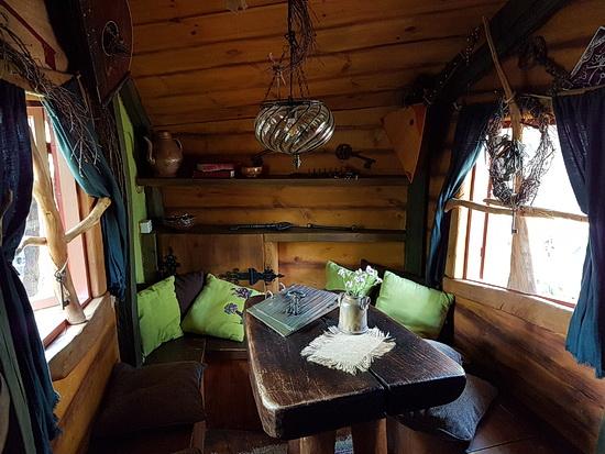 Das WOhnzimmer in Judkas Trollfamilienhaus in Turisede