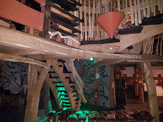 Das Innere des Krönums von Turisede